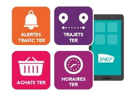 App mobile TER SNCF